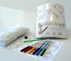 Image of Sewbies Draw-a-Doll Kits