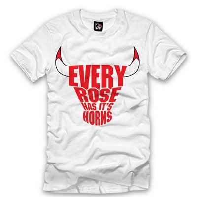 new product 124ff 298ce D. Rose Bulls T-shirt