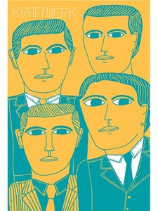 Image of Marcus Oakley 'Kraftwerk' artwork