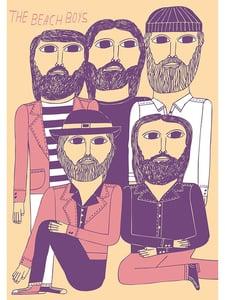 Image of Marcus Oakley 'The Beach Boys' Artwork
