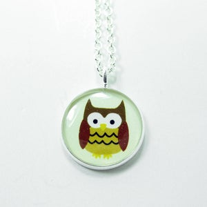 Image of Mari the Owl Necklace