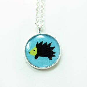 Image of Hedgehog Necklace
