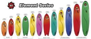 Image of Surfboard Liquid Shredder - Element Series