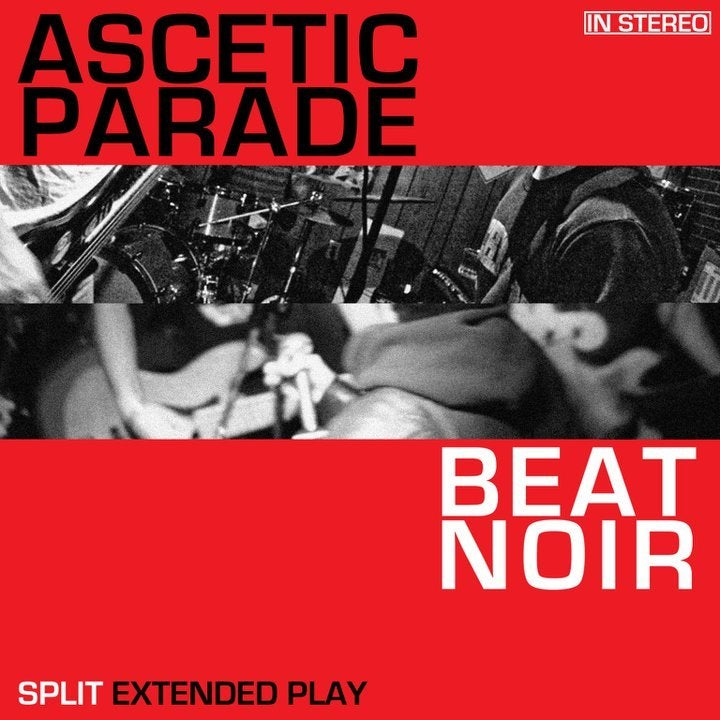 """Image of Ascetic Parade/Beat Noir Split 7"""""""