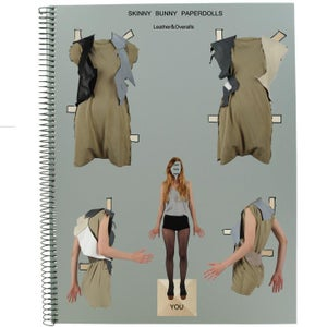 Image of Skinny Bunny leather vests