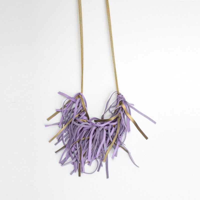 Image of fringe necklace