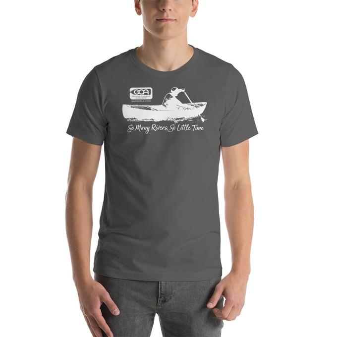 Image of T-Shirt, Canoeist, Dark Colors