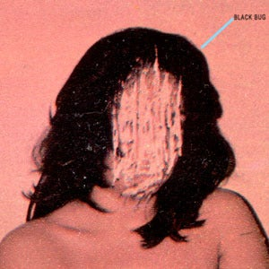 "Image of Black Bug - Police Helicopter 7"" Red vinyl edition"