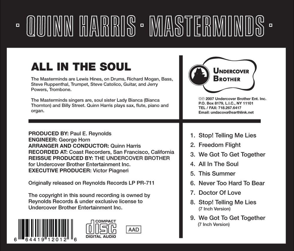 Image of UB1201(2)-QUINN HARRIS (CD)