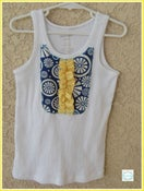 Image of Seaside Ruffled Tank Top. Size 6/7 - Eisley Rae