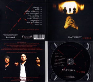 Image of Ratchet - Numb CD - SOLD OUT!!