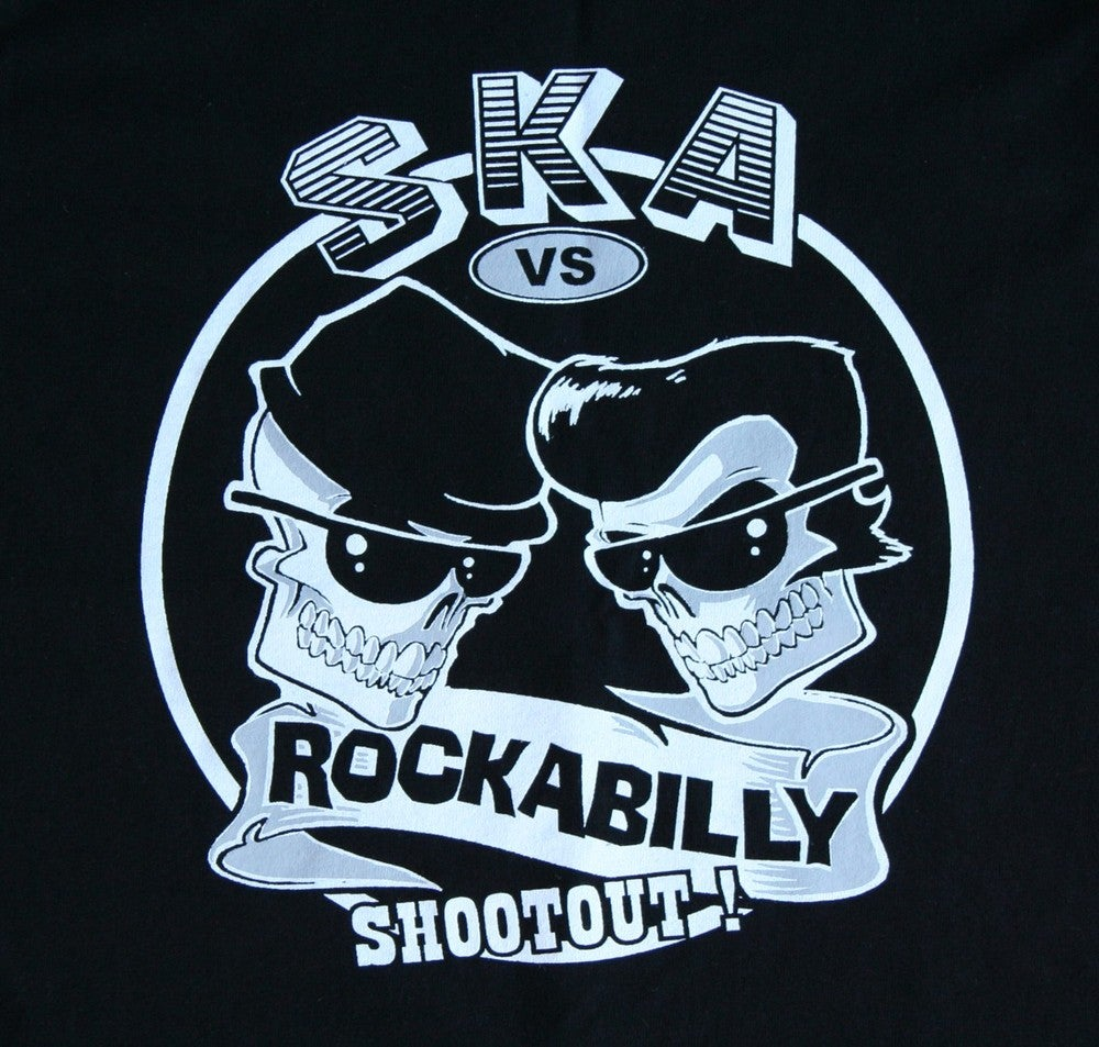 Image of Ska Vs Rockabilly Ladies & Guys T-Shirt