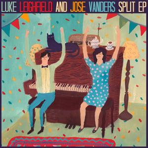 Image of Luke Leighfield & Jose Vanders | Split EP (with poster)
