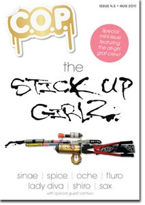 Image of C.O.P. Issue 4.5 STICK UP GIRLZ - Print Version