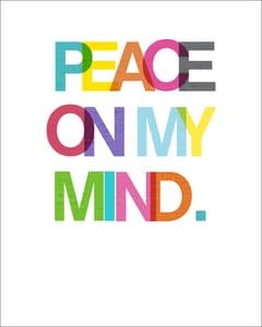 Image of Peace on My Mind