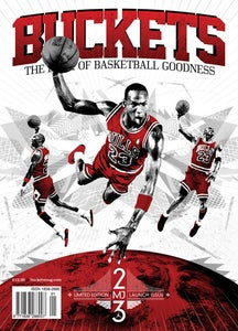 Image of BUCKETS: Launch Issue - His Airness.