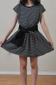 Image of Stripe Knit Dress
