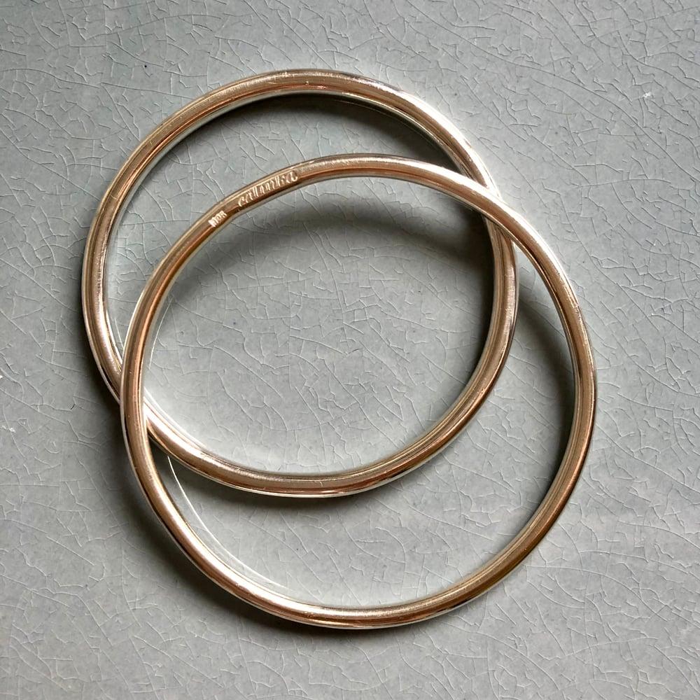 Image of Silver bangle 3 mm