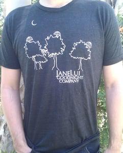 Image of Jane Lui // Unisex UmbrellaTree Tees BLACK!