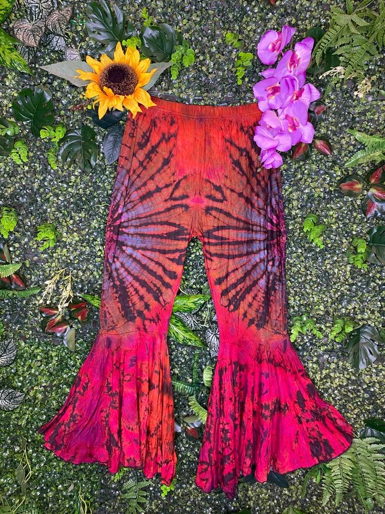 Image of Tie Dye Flares - London