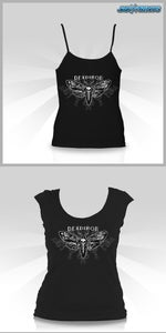 Image of Moth Baby Doll / Tank Top