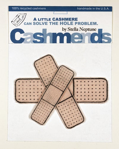 Image of Iron-on Cashmere Band-Aids - Old Skool