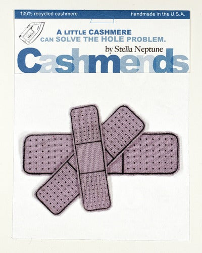 Image of Iron-on Cashmere Band-Aids - Lavender
