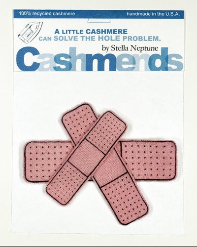 Image of Iron-on Cashmere Band-Aids - Light Pink
