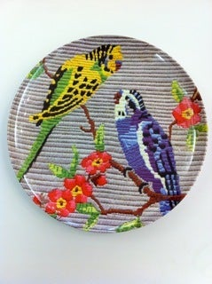 Image of budgie plate
