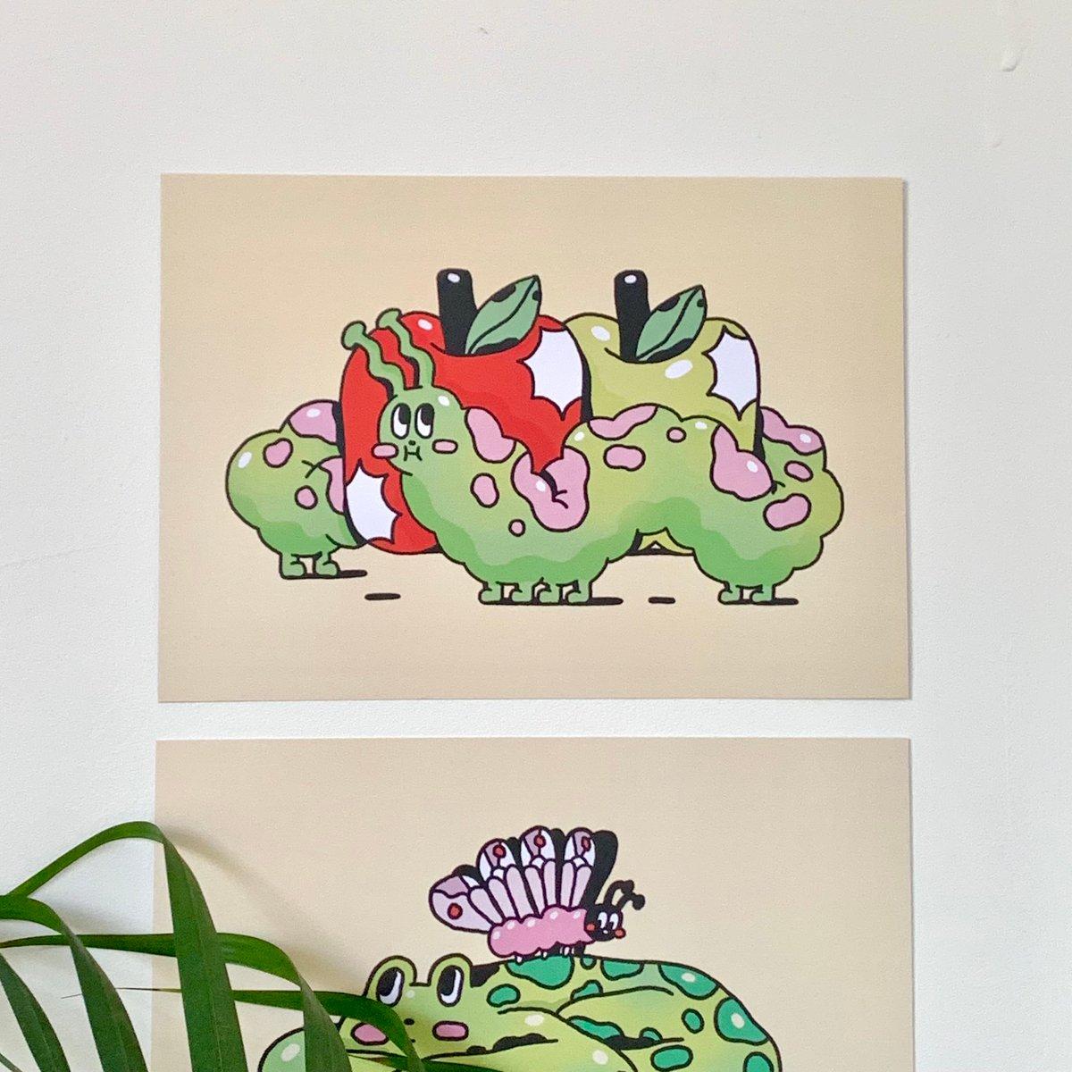 'Caterpillar' - A5 print