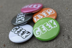 Image of Geek button badge