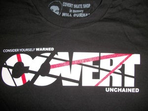 Image of COVERT Logo Rock Tee
