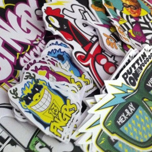 Image of 13fngrs Sticker Pack*