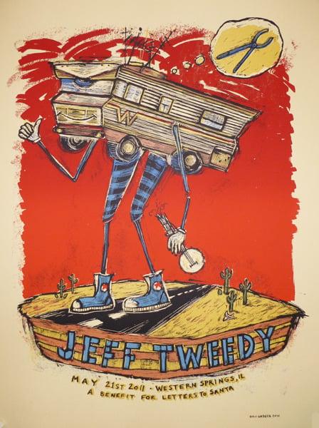 Jeff Tweedy Winnebago poster