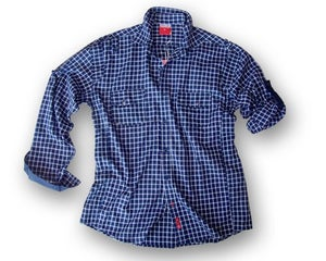Image of Ghajni Plaid Navy