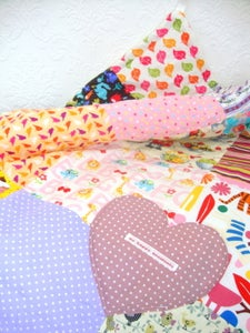 Image of girls super soft play quilt