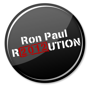 "Image of 100 1"" Ron Paul Buttons"
