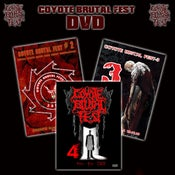Image of COYOTE BRUTAL FEST DVD`s 2-3-4 12$
