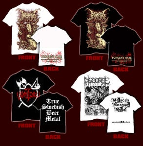 Image of T-SHIRT`s DIVINE MOMENTS OF TRUTH,VOMITORY