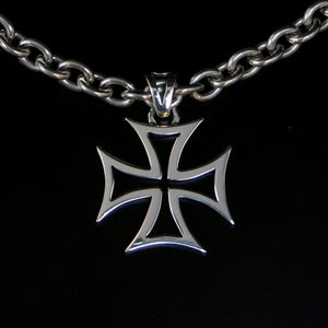 Image of Iron cross in silver