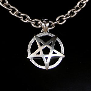 Image of Pentagram in silver