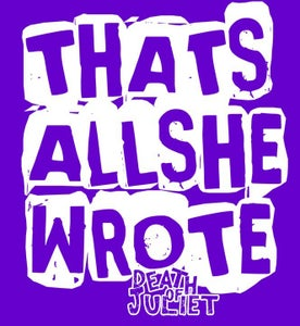 "Image of ""That's All She Wrote"" T-Shirt"