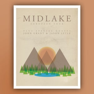 Image of Midlake Tour Poster