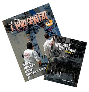 Image of I Hate Graffiti issue 1 & We Ride By Train 2 DVD