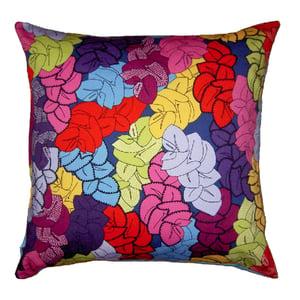Image of leaf cushion