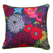 Image of poppy mix cushion