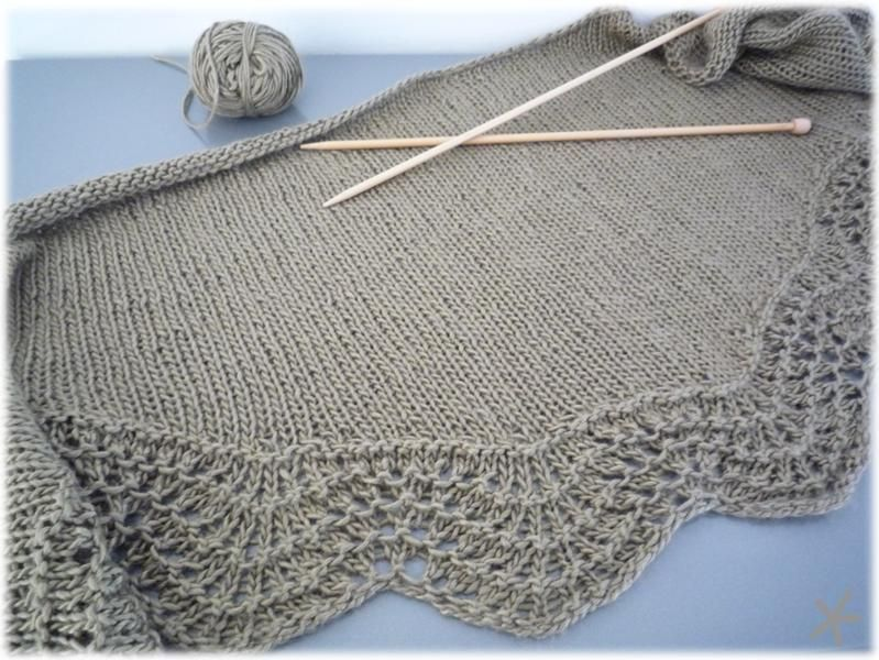 Image of Abyssal shawl - patron gratuit