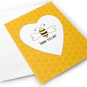 Image of Bee Mine Love Note