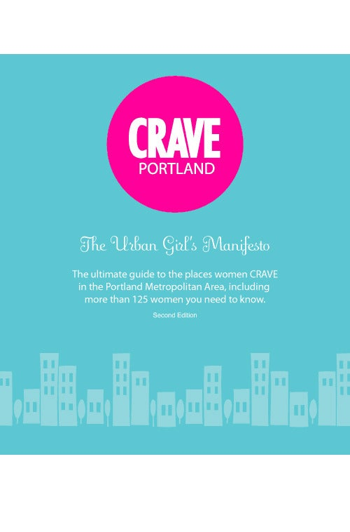 Image of CRAVE Portland Book