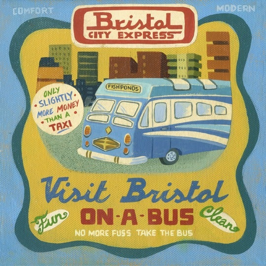 Image of Visit Bristol on a Bus